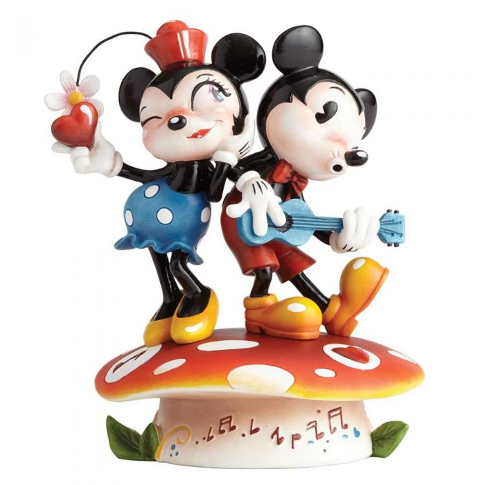 4058894 Mickey Mouse & Minnie Mouse Miss Mindy Disney