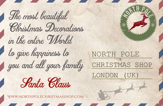 Discover the world of north pole christmas shop letter from santa claus north pole christmas shop spiritdancerdesigns Images